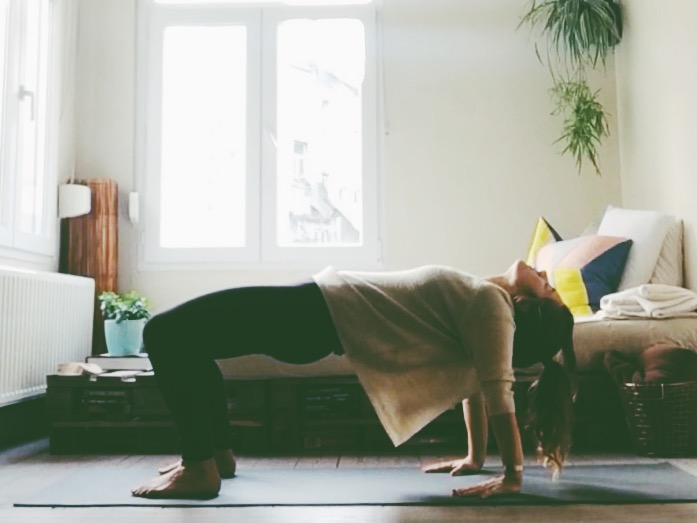 Rol uit je bed yogasessie !