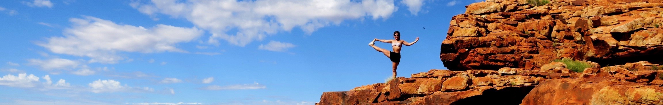 Yoga op reis in Australië