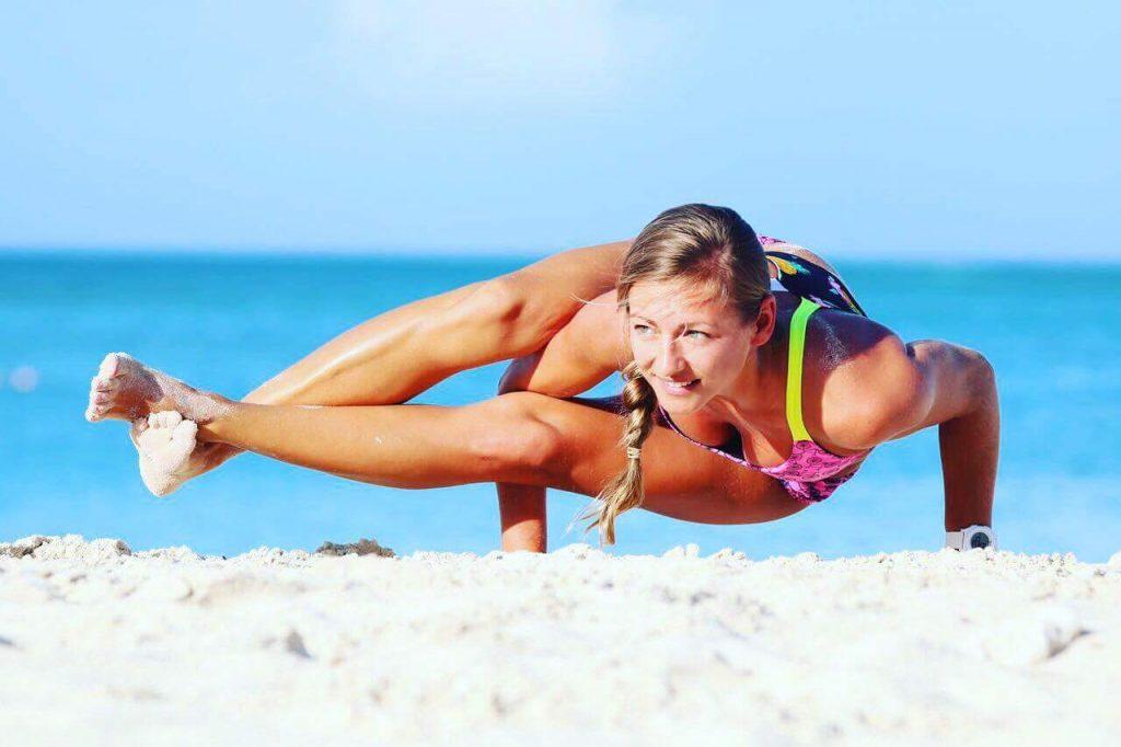 adYogini, beachyoga in Aruba